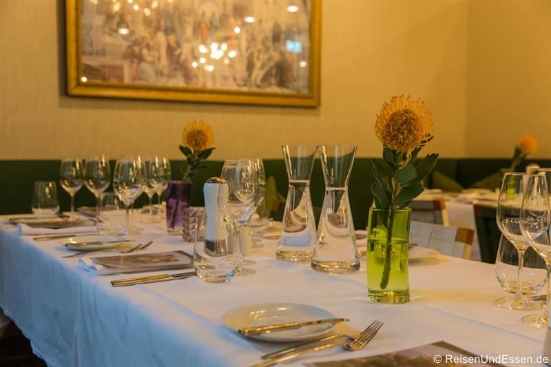 Dinner im Restaurant Esszimmer im Mercure Hotel Regensburg