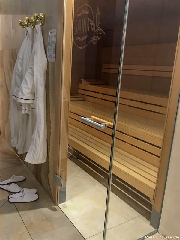 Sauna im Mercure Hotel Regensburg