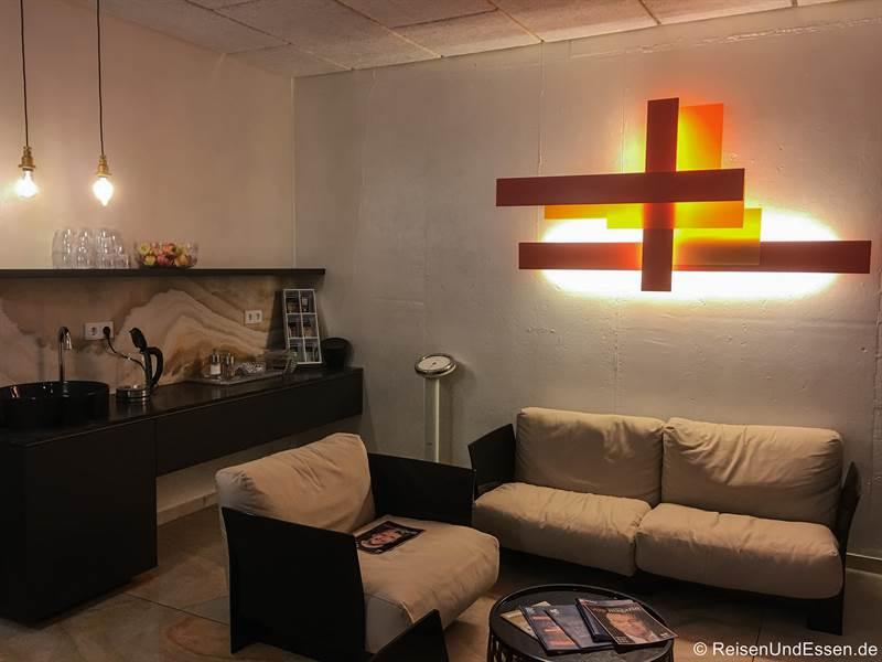 Lounge im Wellness-Bereich im Mercure Hotel Regensburg
