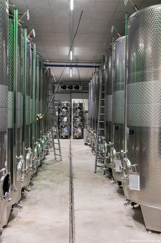 Moderner Weinkeller Römmerts Weinwelt in Volkach