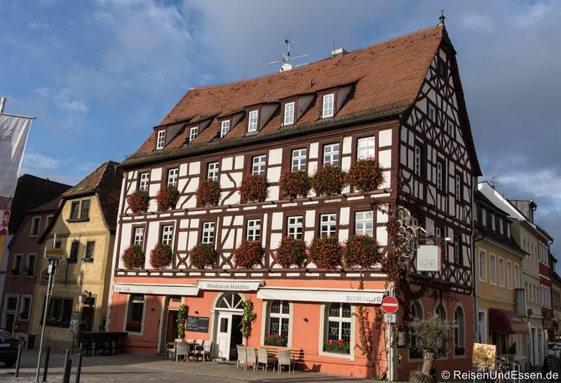 Wirtshaus am Marktplatz in Volkach