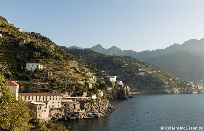 Hotel an der Amalfiküste zwischen Atrani und Minori