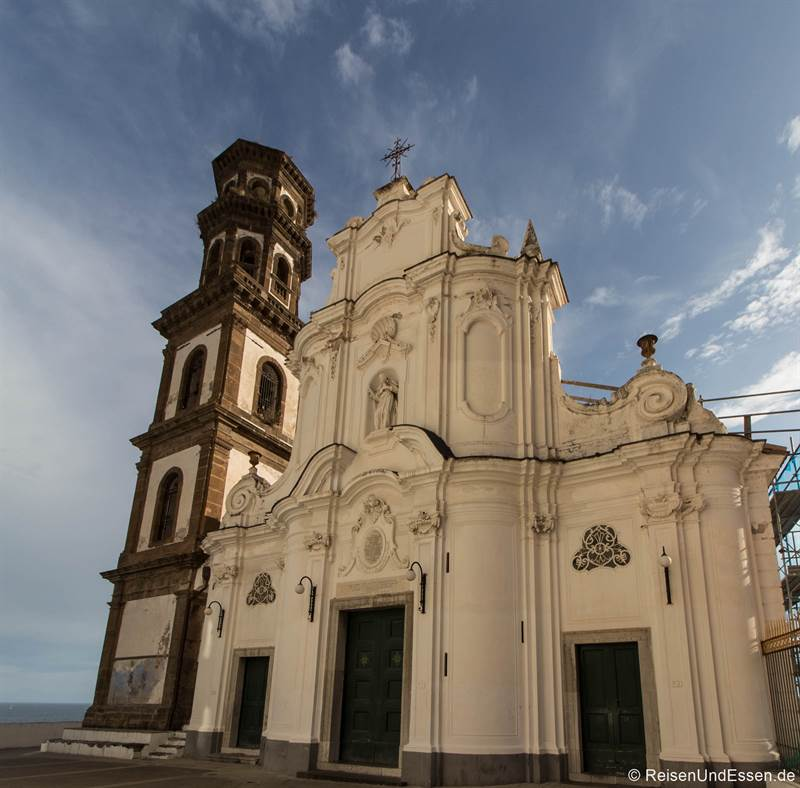 Kirche Santa Maria in Atrani an der Amalfiküste