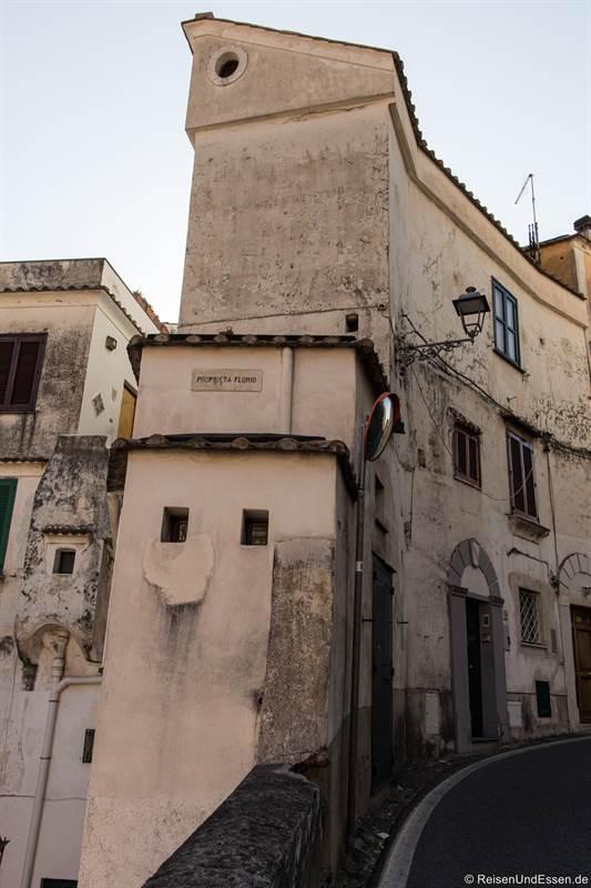 Schmales Haus in Minori an der Amalfiküste