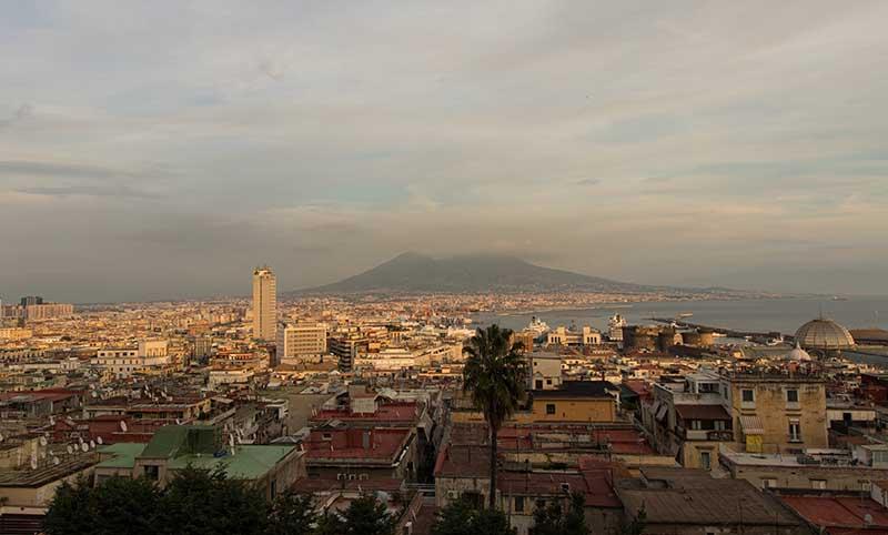 Aussicht auf Neapel