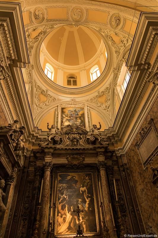 Blick zur Decke in Santa Maria delle Anime
