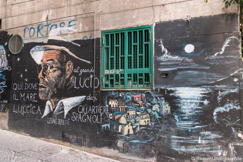 Graffiti - Sehenswürdigkeiten in Neapel