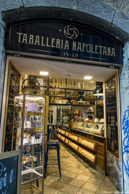 Tarallareria im Centro Storico in Neapel