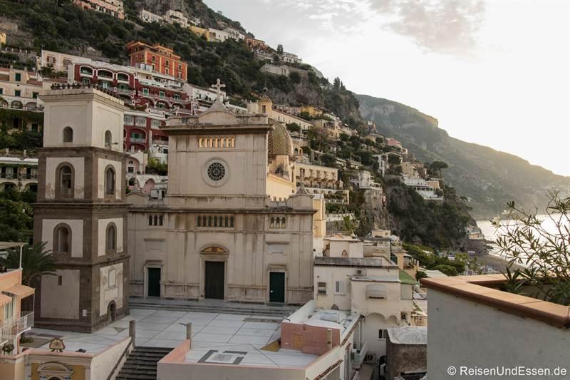 Dom in Positano an der Amalfiküste