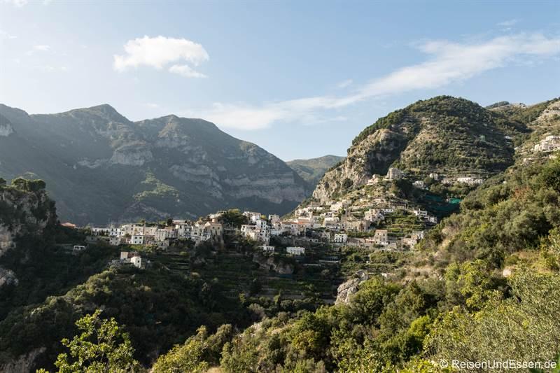 Dorf Sacala in der Nähe von Ravello