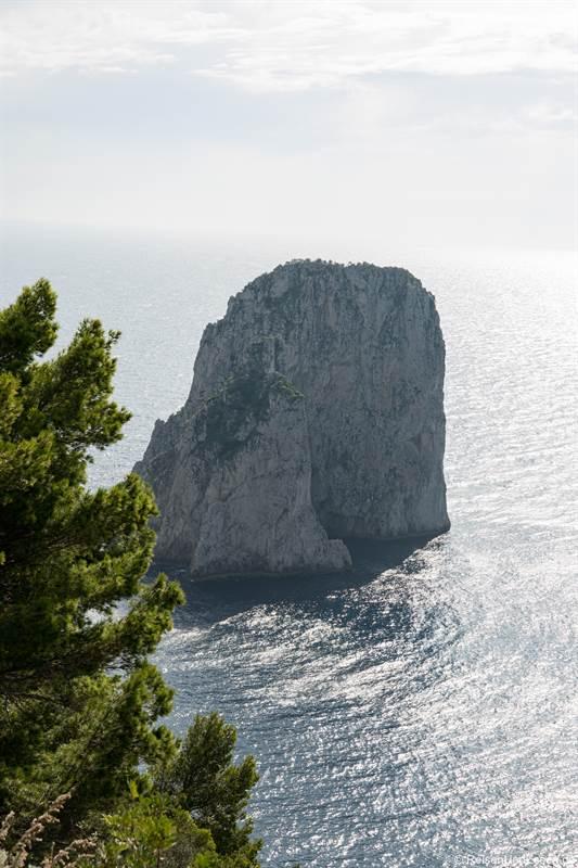 Felsformation Faraglioni vor der Insel Capri