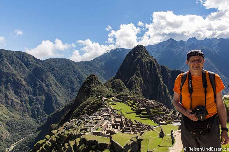 Welche Aussichtsberg in Machu Picchu
