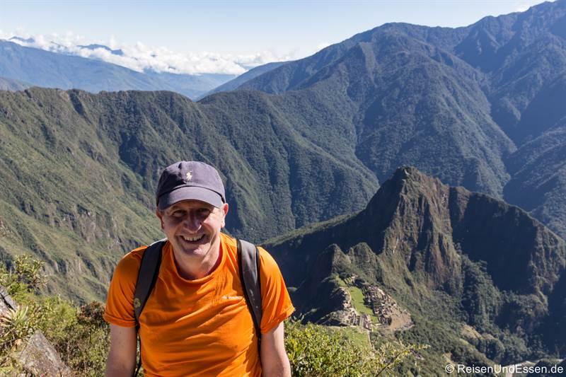 Pause am Montaña in Peru