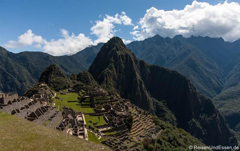 Machu und Huayna Picchu in Peru