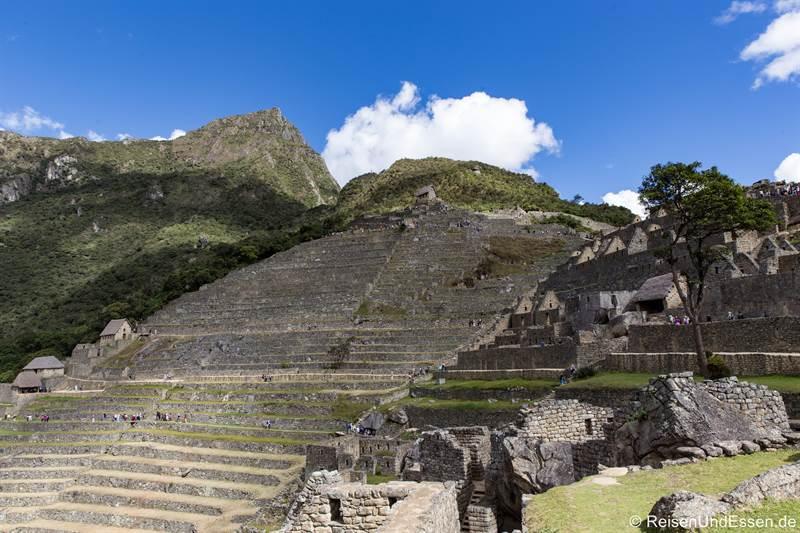 Machu Picchu und Machu Picchu Mountain in Peru