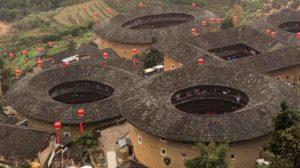 Tulou – Rundhäuser der Hakka bei Xiamen in der Provinz Fujian in China