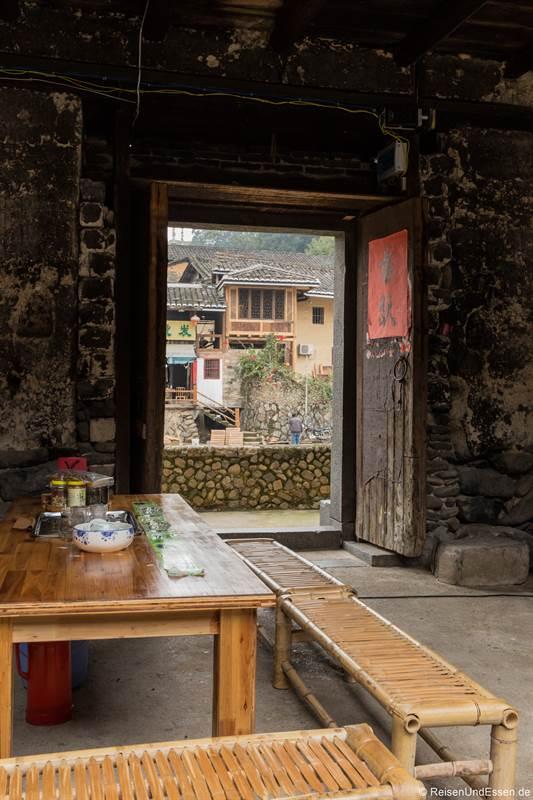 Restaurant in Shunqinglou in der Provinz Fujian