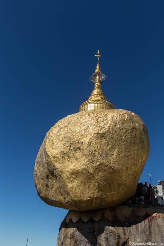 Goldener Fels in Kyaiktiyo - Sehenswürdigkeiten in Mynanmar