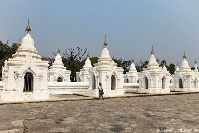 Kuthodaw Pagode in Mandalay - Sehenswürdigkeiten in Myanmar