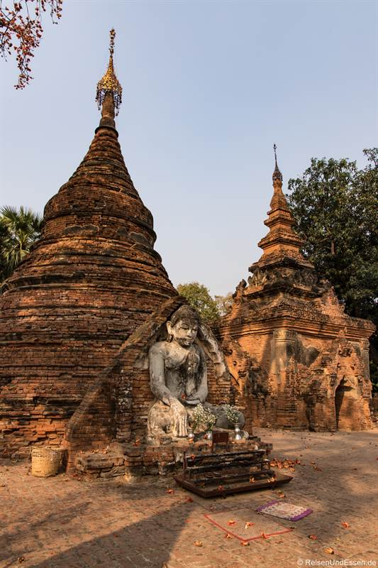 Yadana Hsemee Pagode in Inwa bei Mandalay