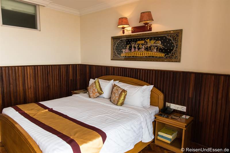 Zimmer im Ayarwaddy River View Hotel in Mandalay