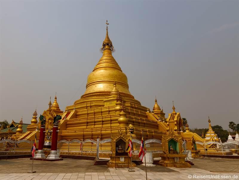 Maha Lawka Marazein-Pagode in Mandalay - Sehenswürdigkeiten in Mandalay