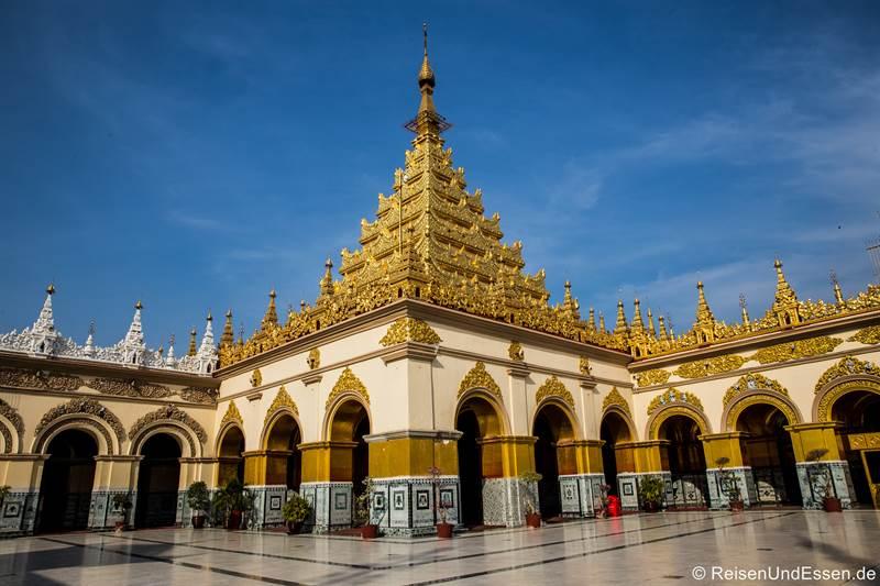 Mahamuni Buddha Tempel - Sehenswürdigkeiten in Mandalay