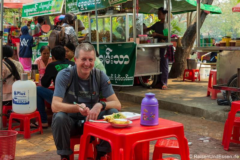 Streetfood - Essen in Mandalay