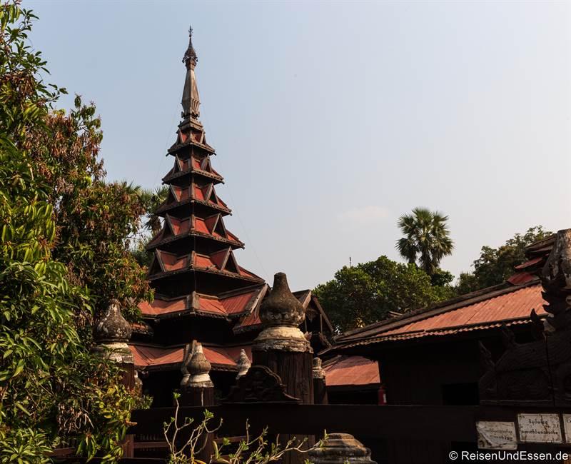 Bagaya Kloster - Sehenswürdigkeiten in Inwa