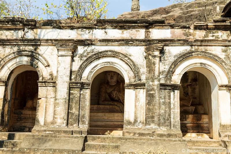 Buddha in Hpo Win Daung in Monywa