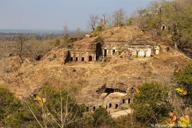 Höhlen in Hpo Win Daung - Sehenswürdigkeiten in Monywa