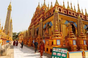 Monywa – Tausend Buddhas und Höhlen