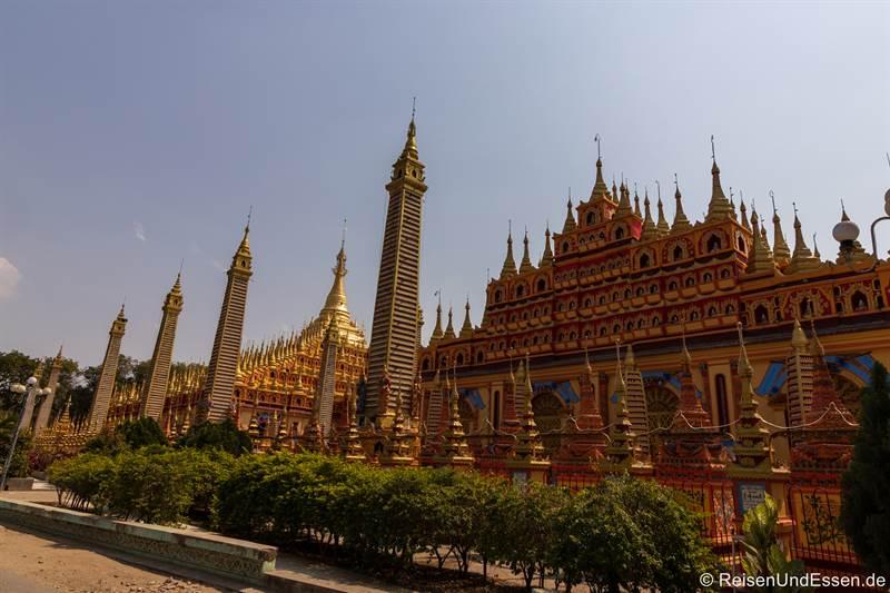Thanboddhay Pagode - Sehenswürdigkeiten in Monywa