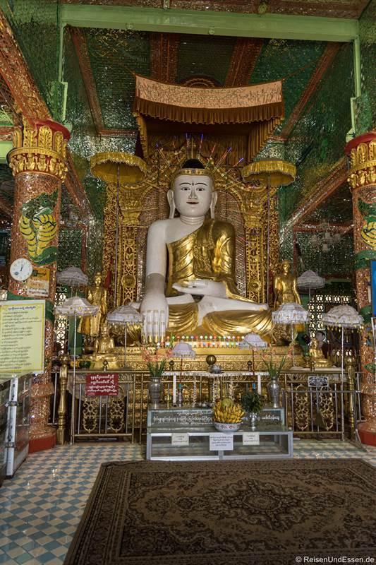 Buddha in der Sun U Ponnya Shin-Pagode - Sehenswürdigkeiten in Sagaing