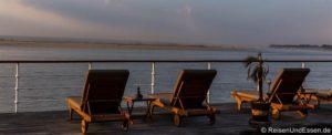Flusskreuzfahrt auf dem Irrawaddy von Mandalay nach Bagan