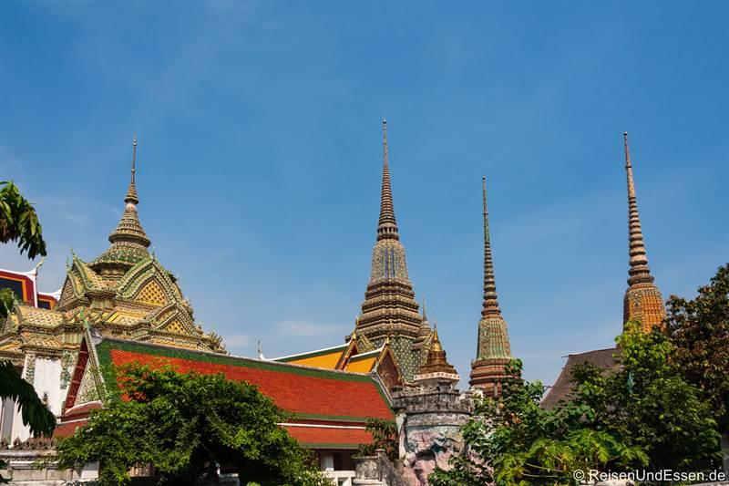 Wat Pho in Bangkok - Tempel des liegenden Buddhas