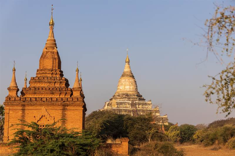 Shwesandaw-Pagode in Myanmar
