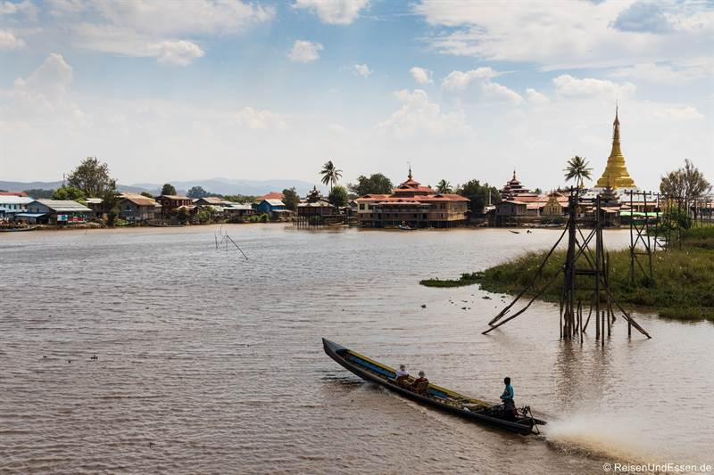 Bootstour auf dem Inle-See