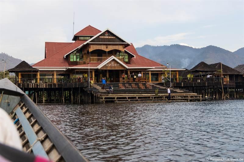 Anleger für das Golden Island Cottages Thale-U Hotel