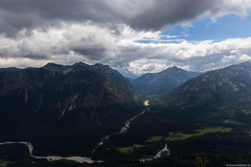 Blick vom Teufelstättkopf Richtung Ammerwald