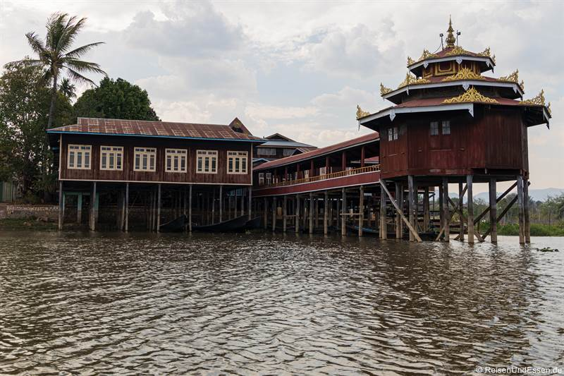 Nga Hpe Kyaung Kloster am Inle-See
