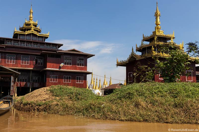 Tempel am Inle-See