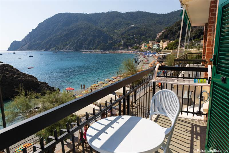 Aussicht von der Ferienwohnung in Monterosso al Mare
