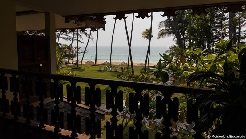 Aussicht vom Amazing Ngapali Resort