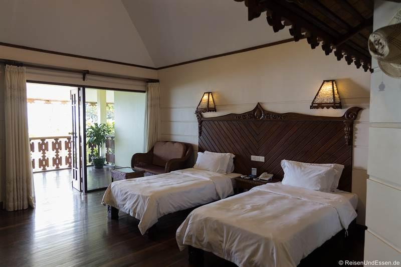 Zimmer im Amazing Ngapali Resort