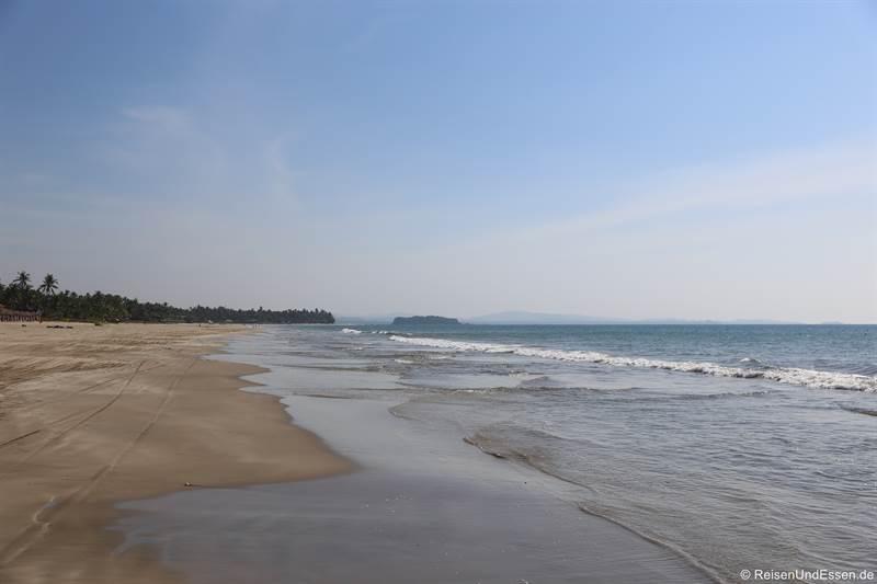 Strand in Ngwe Saung in Myanmar