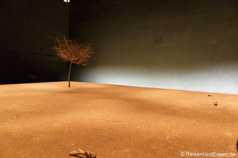 Wüstensand im Niger - Klimahaus Bremerhaven