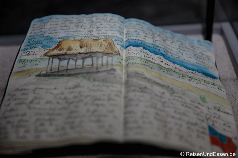 Reisetagebuch von Axel Werner in Samoa