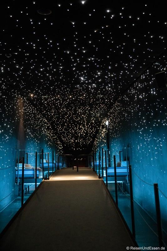 Sternenhimmel über der Südsee im Klimahaus Bremerhaven