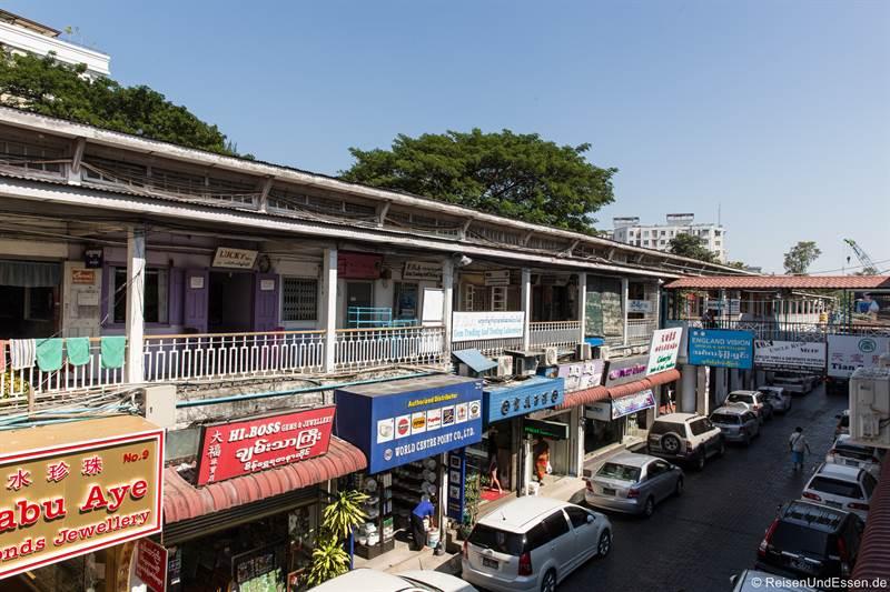 Bogyoke Aung San Markt in Yangon